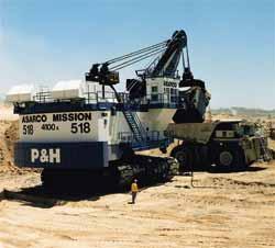 Una miniera con una missione