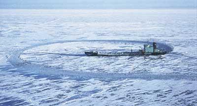 propulsion in ice