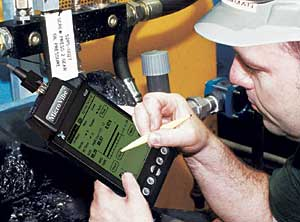 Vibration analysis at your finger tips