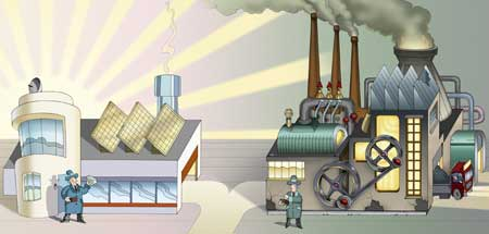 Angesichts galoppierender energiepreise und der wachsenden sorge um