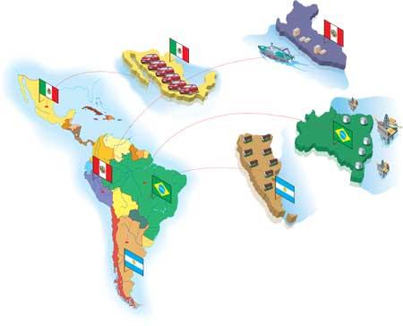 Gesunde Finanzen Südamerika überwindet Krise