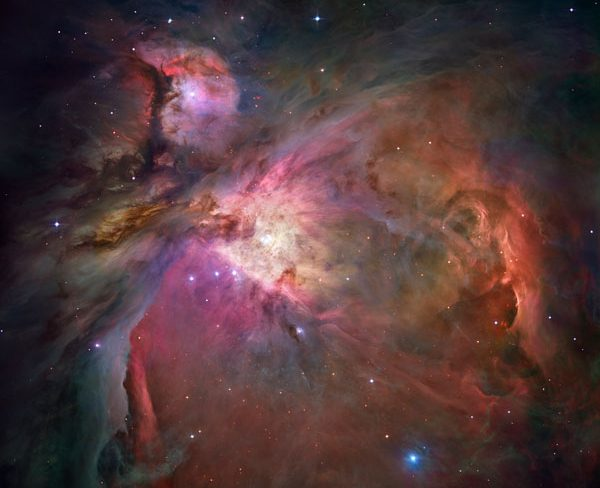 The Orion Nebula  Photo: NASA and ESA