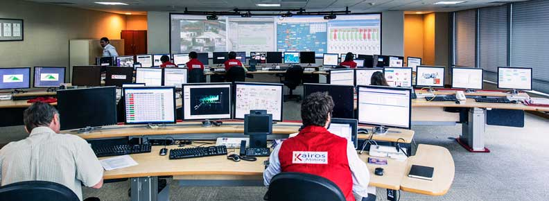 Honeywell's Remote Diagnostics Centre in Santiago, Chile.