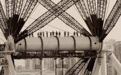 Ironworkers and American Bridge Engineers.