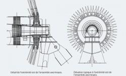 Fig. 1 : schéma du montage de roulements.