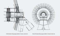 Fig. 1: Schema del sistema di cuscinetti