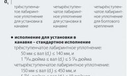 Рис. 5: Ассортимент таконитовых уплотнений SKF