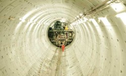 Download the Evolution iPad app to watch a slideshow of images from the Lee Tunnel project.