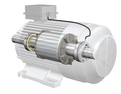 skf-sensor-bearing-unit-in-electric-motor