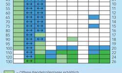Bild 2: Pendelrollenlager mit den neuen RS-Dichtungen (blau gekennzeichnet) ersetzen die herkömmlichen Lager mit CS-Dichtungen.