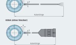 Bild 11: Die SKF Motor Encoder Unit vom Typ BMD ist standardmäßig mit oder ohne Stecker erhältlich.