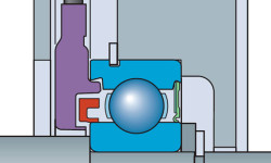 Fig. 12: SKF Motor Encoder Units require only 6.2 mm of extra space to accommodate sensor technology.
