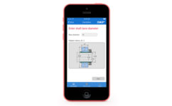 New app for mounting bearings