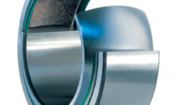 Fig. 11: Radial spherical plain bearings with a maintenance-free TX fabric liner (and seals).