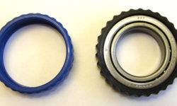 Fig. 19: Steering vibration absorber made from a soft thermoplastic elastomer.