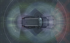Volvo Cars uses radar, cameras, sensors and lasers to register everything around the car.