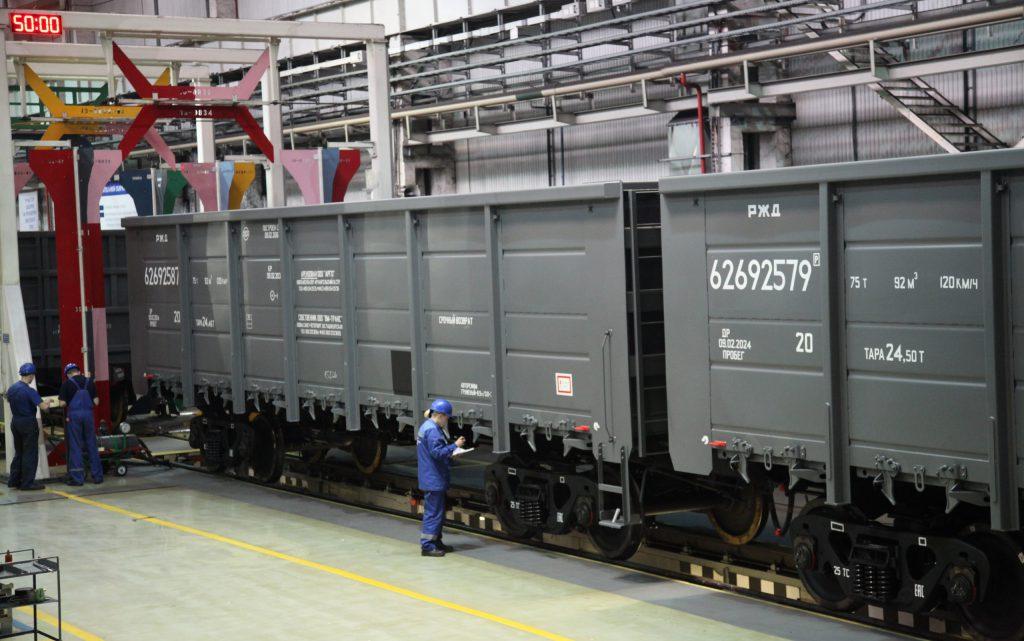Vertragsverlängerung mit russischem Bahnunternehmen