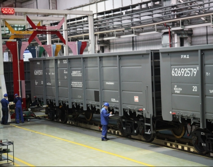 Contract extension with Russian rail company