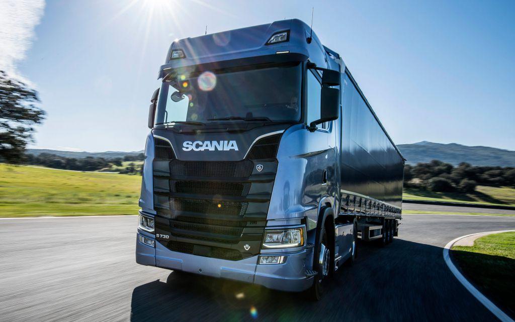 SKF-teknik i nya lastbilar från Scania