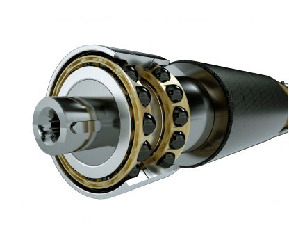 Benefits of hybrid bearings in severe conditions