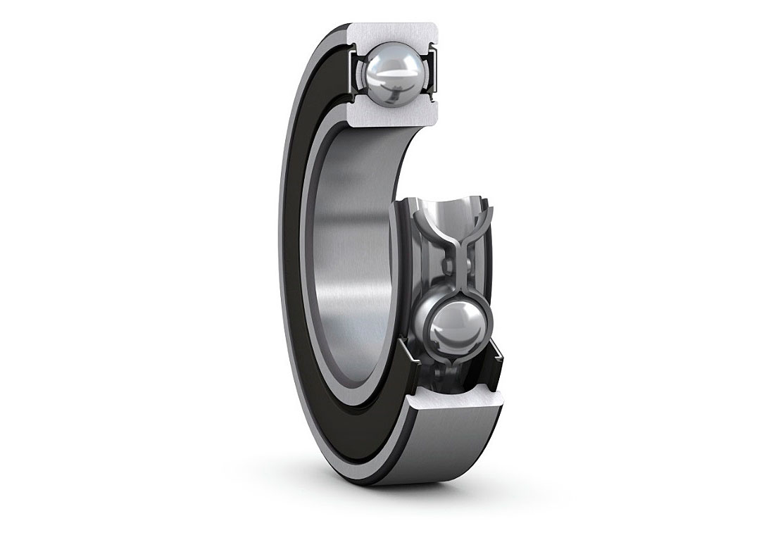 SKF Explorer deep groove ball bearing range with RSH heavy-duty seals