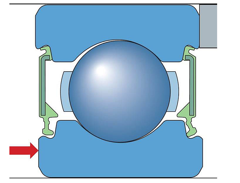 Influence of axial loads on the sealing system.