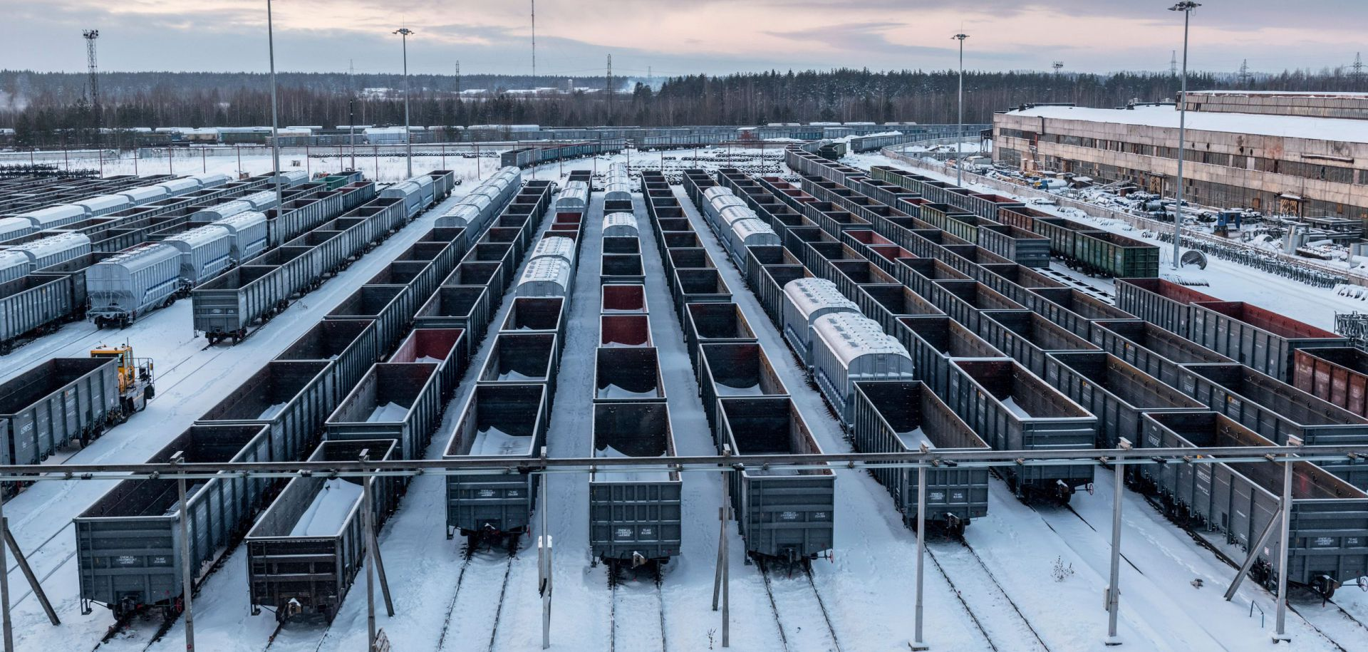Le renouveau du chemin de fer russe