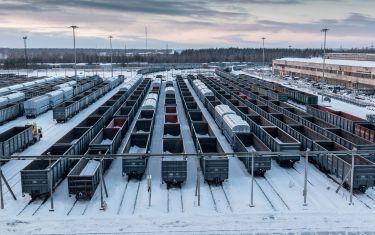 Obnova železnice v Rusku