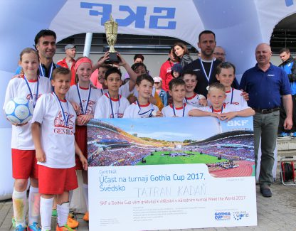 Vítězný tým Meet the World - FK Tatran Kadaň