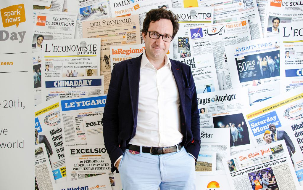 Christian de Boisredon, founder of Sparknews and Impact Journalism.
