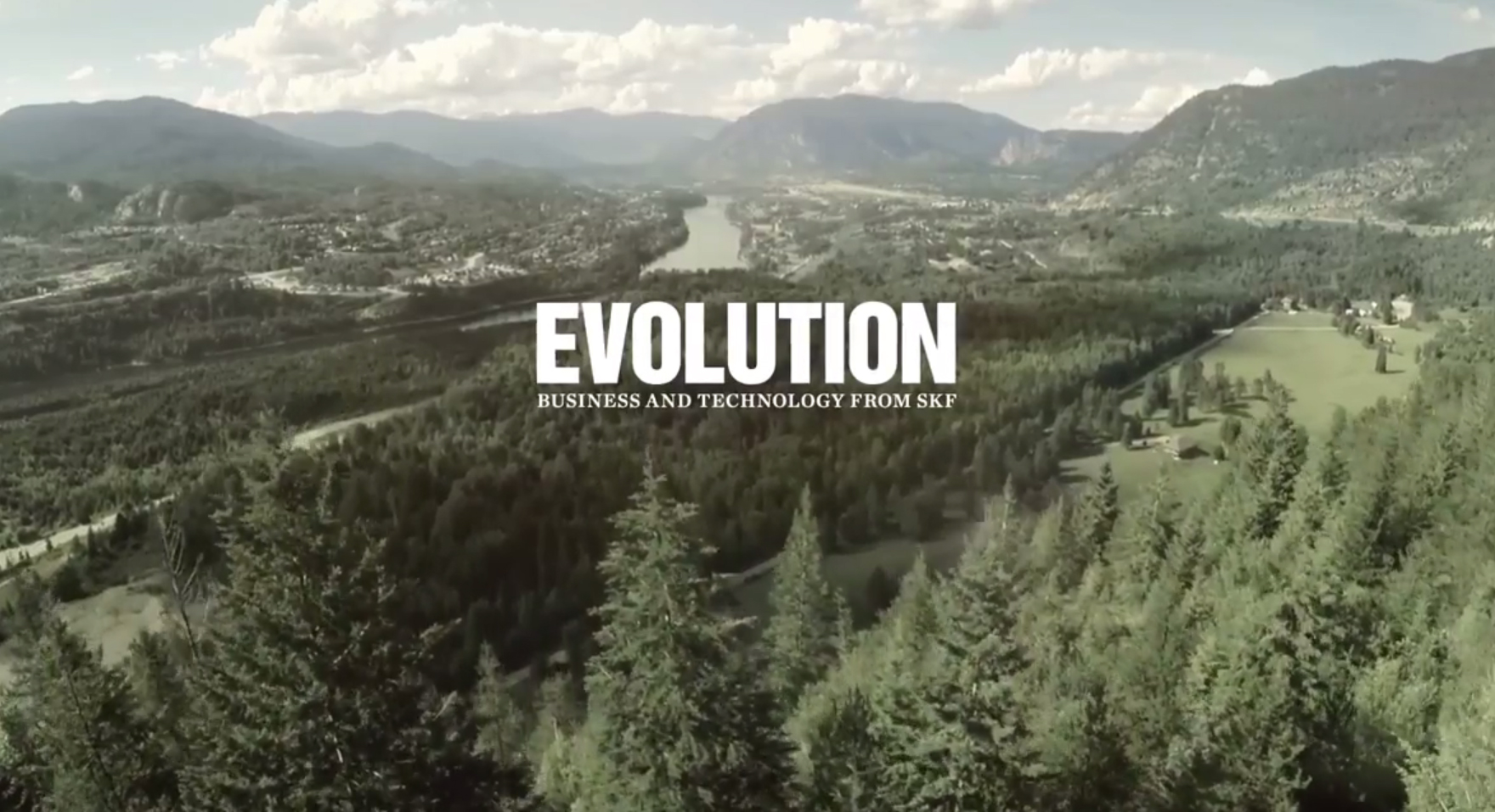 Evolution online – SKF technology and solutions around the world