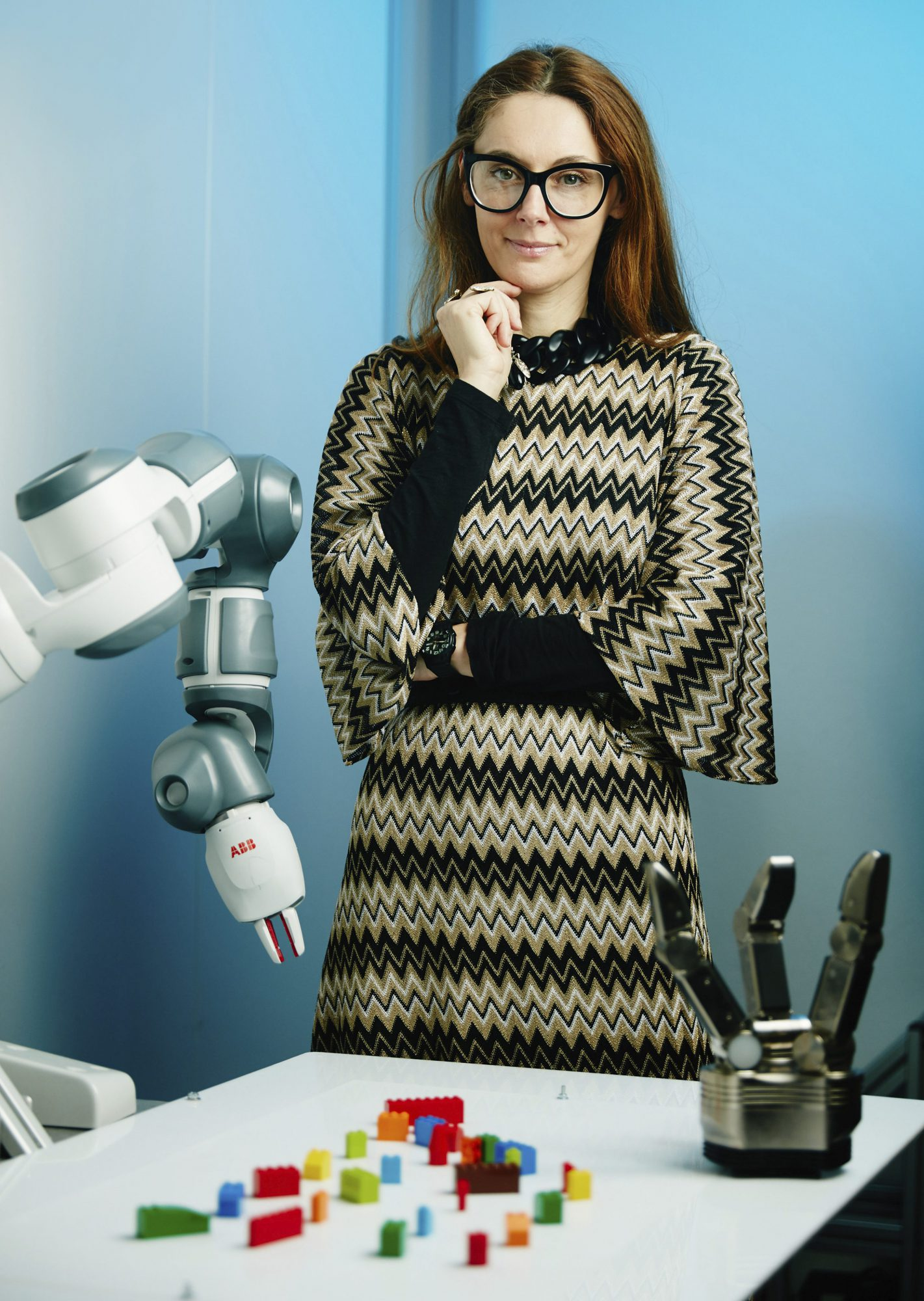 Danica Kragic envisions more automation in industrial settings to help with heavy, dirty and dangerous tasks.