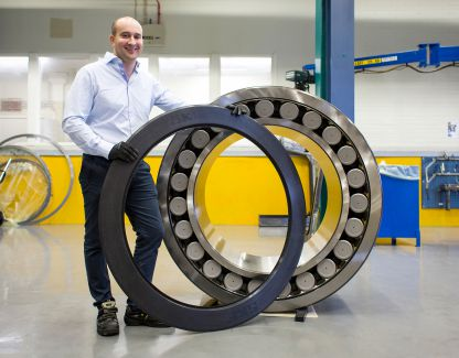 Record-setting sealed bearing