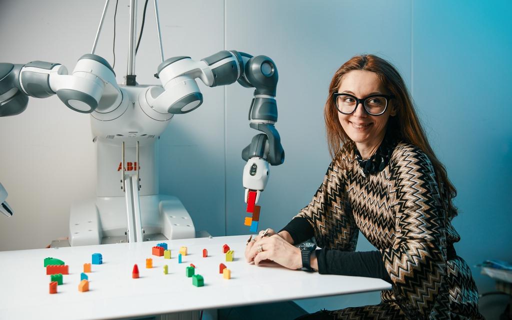 Danica Kragic talks about ethical robots