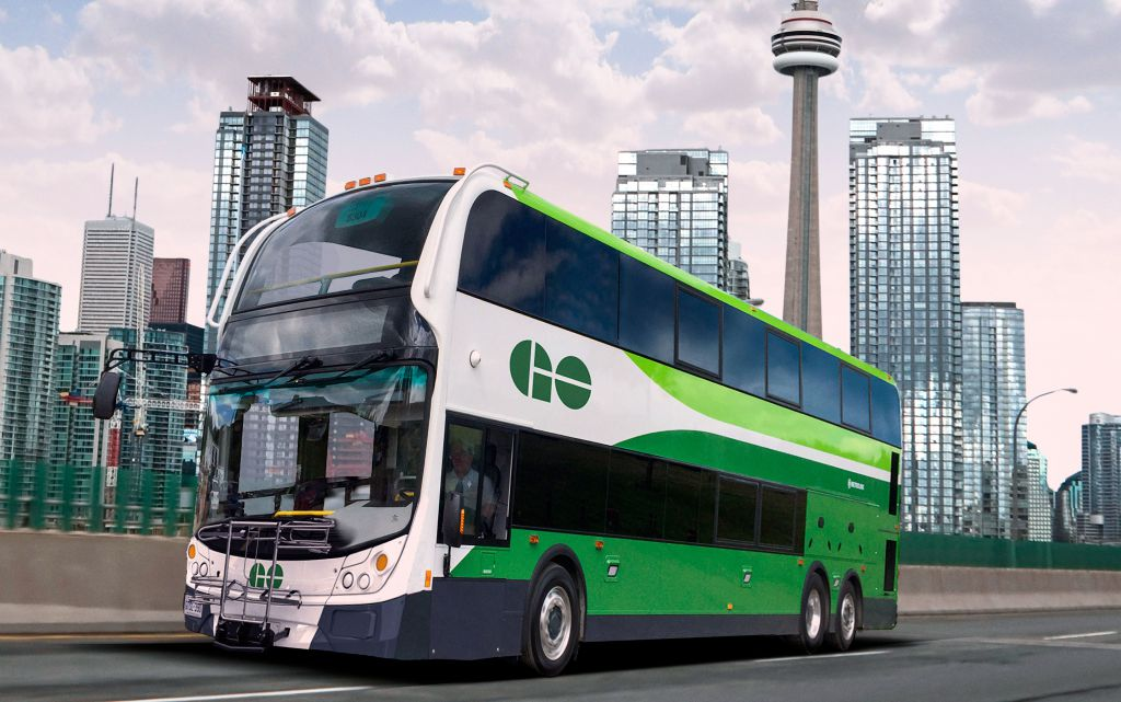 Enviro500 bus from Alexander Dennis Limited