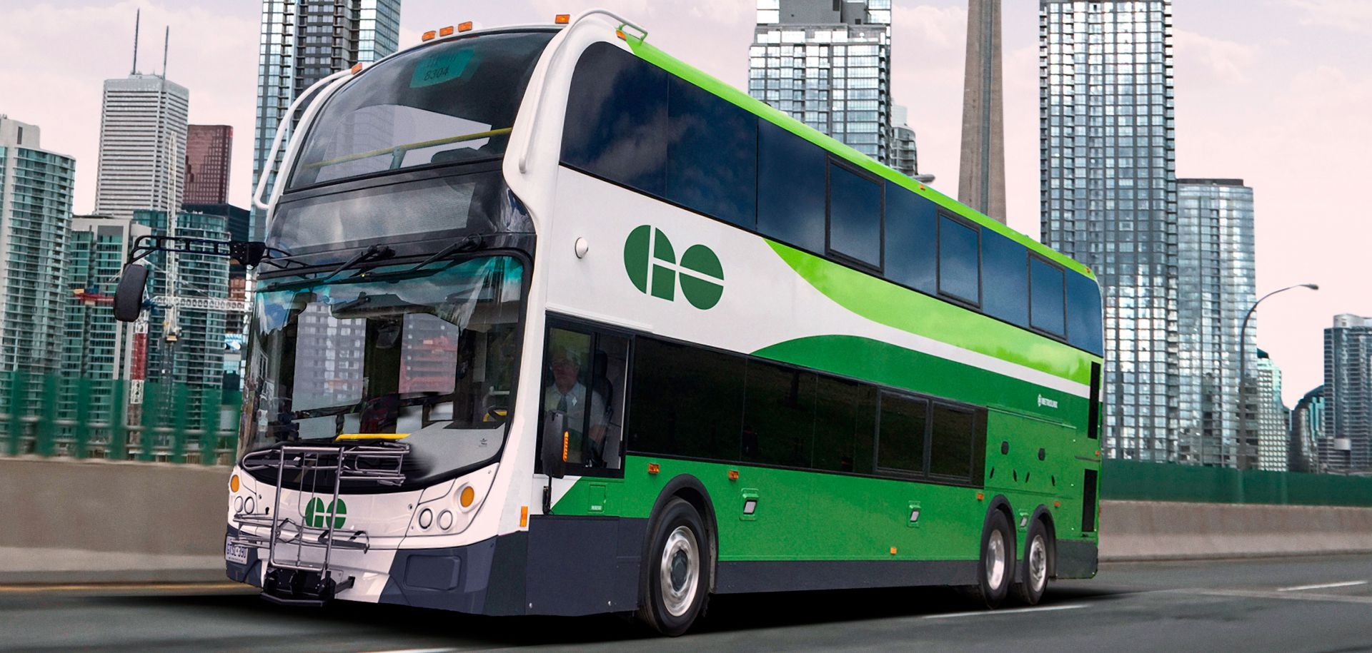Enviro500 bus from Alexander Dennis Limited