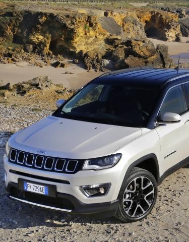 Des roulements de roues SKF sur le Jeep Compass