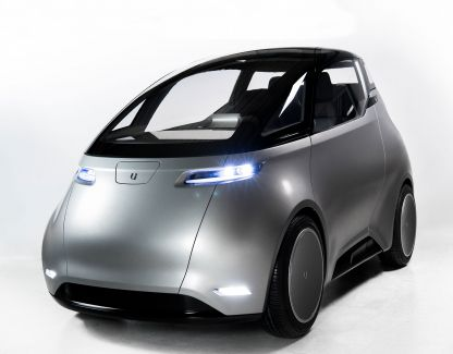 Uniti's two-seater is a lightweight car that can reach speeds of more than 55 mph.