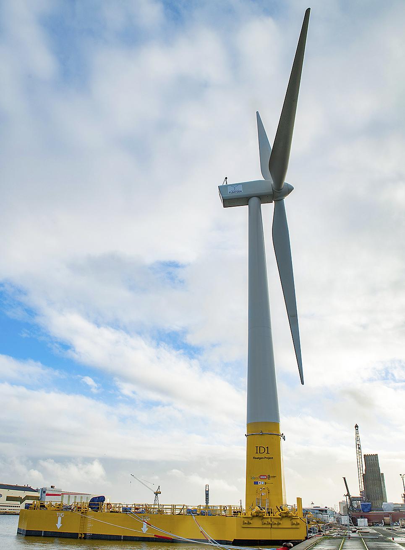 La turbina eólica Floatgen