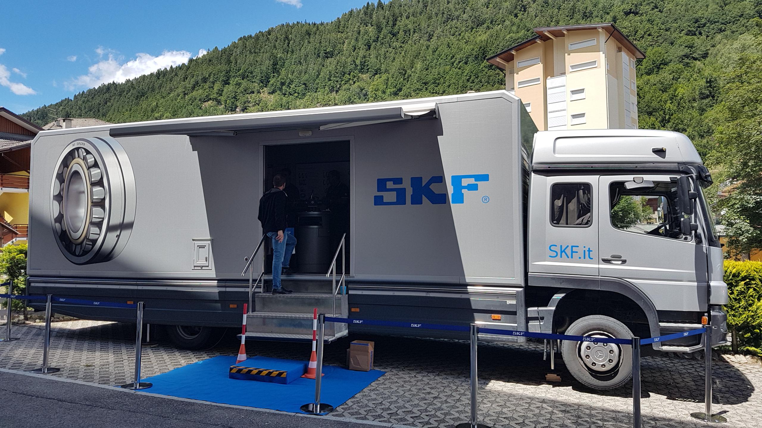 SKF al Customer day di Orla