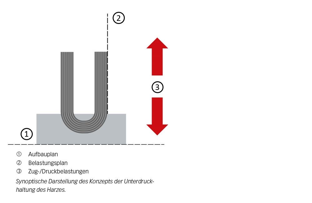 Bild 3: Halbkugelscheibe mit einer Karbonfaser-Sohle.