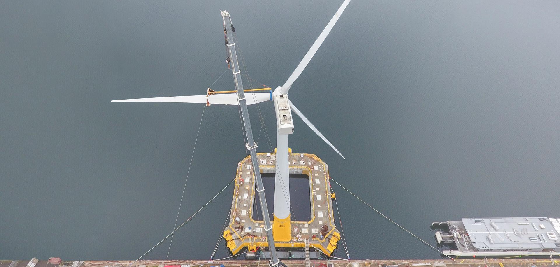 The Floatgen wind turbine