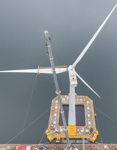 The Floatgen wind turbine