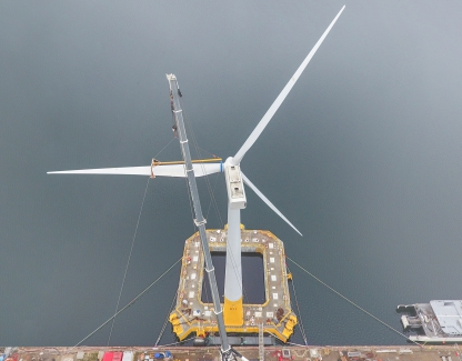 Floatgen wind turbine