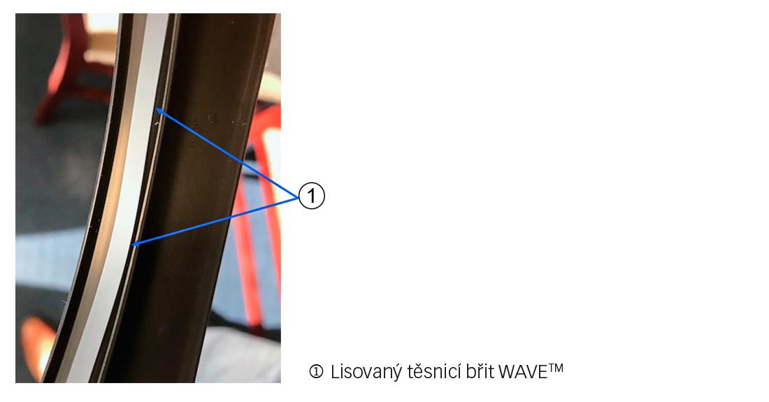 Technologie těsnicího břitu WAVE