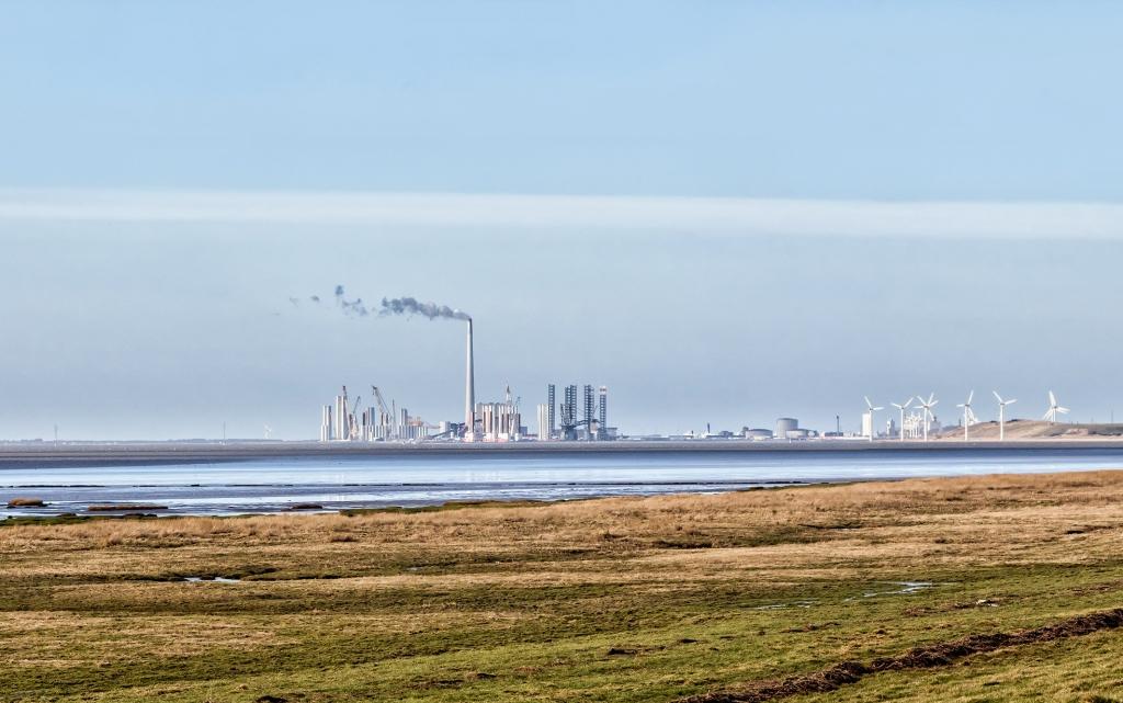 丹麦的埃斯比约是欧洲风能业中心。