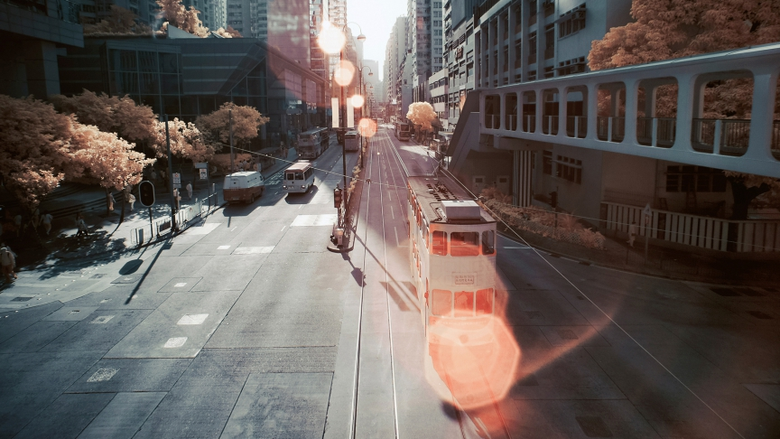 Honkongs Straßenbahn wird renoviert
