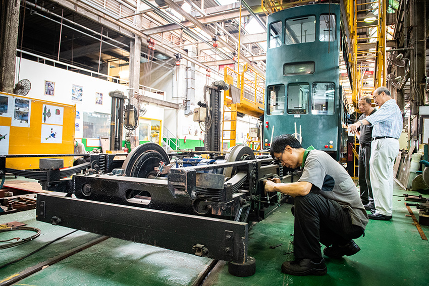 Hong Kong Tramways has cooperated with SKF to develop two axlebox prototypes.