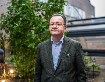 Karl-Henrik Sundström, CEO of Swedish-Finnish forestry, pulp and paper group Stora Enso.
