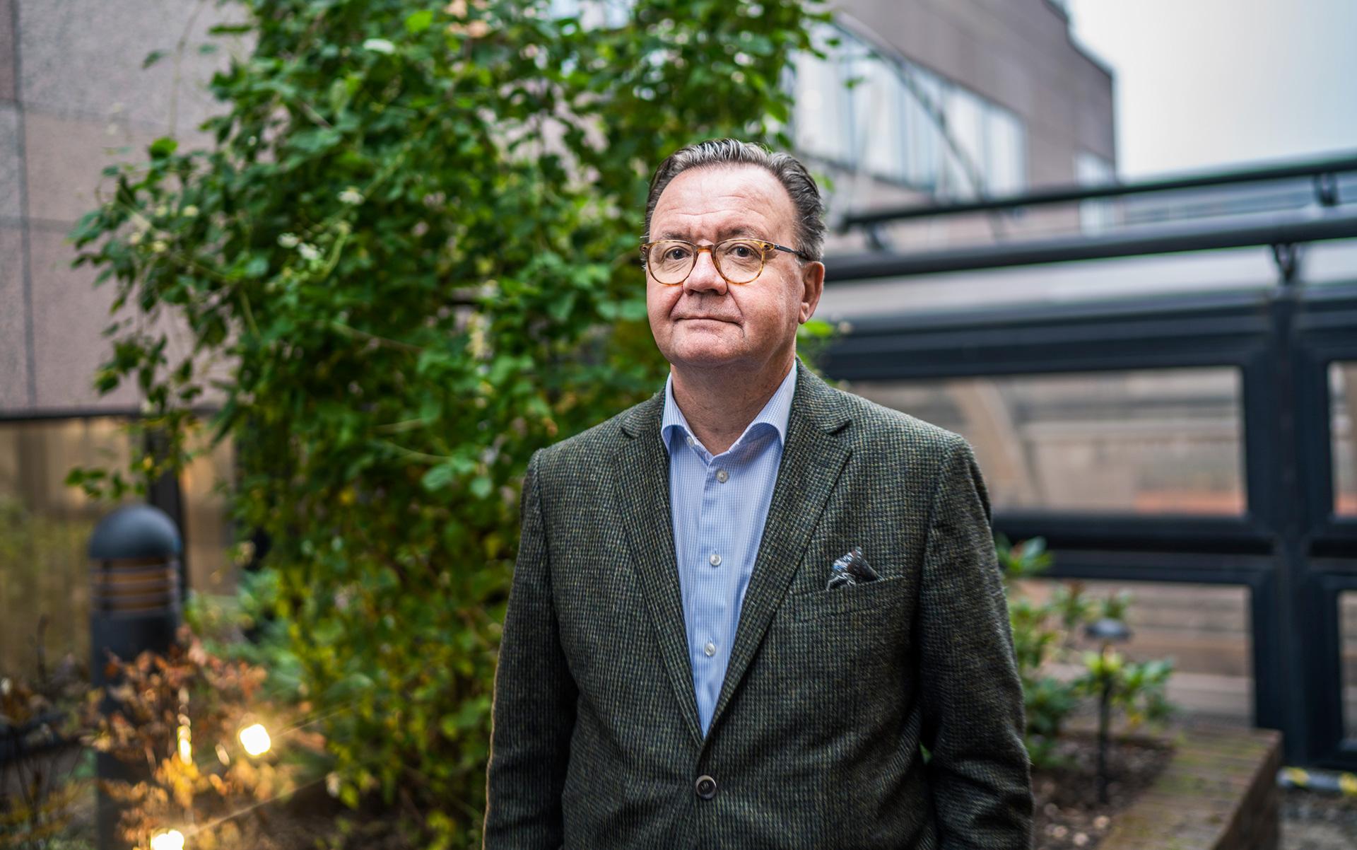 Karl-Henrik Sundström, PDG de Stora Enso, groupe finno-suédois producteur de pâte et de papier